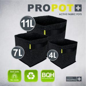 PROPOT 4 litres noir - Garden HighPro
