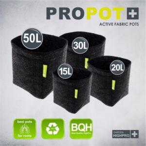 PROPOT 15 litres noir - Garden HighPro