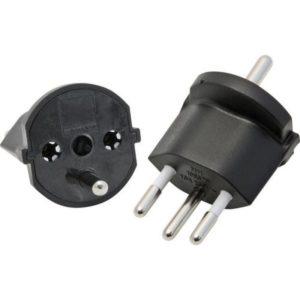 Adaptateur Fixe EU-CH, 10A