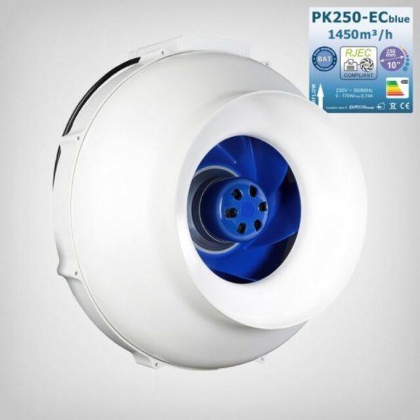 Prima Klima EC Blue 1450m3/h Ø250mm