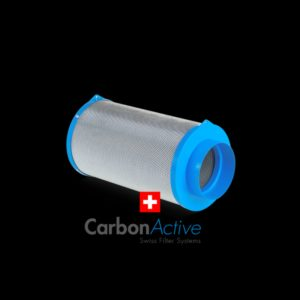 Carbon Active Filtre Granulat, 400m³/h, Ø125mm