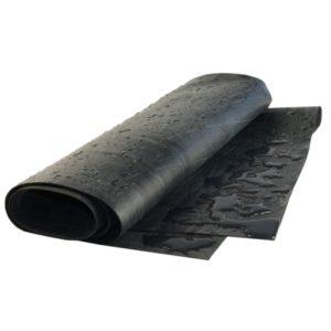 Bâche plastique noir, 4x1m, 500 Micron