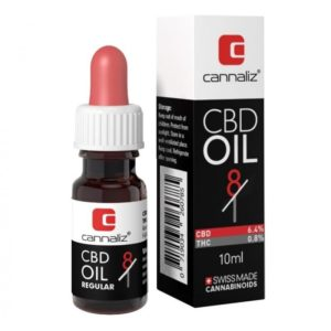 Cannaliz CBD Oil 8/1 Ratio