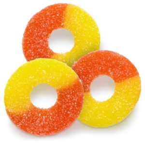 Peach Rings CBD Treats
