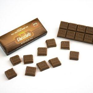 Chocolat au lait CBD