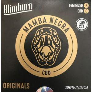BlimBurn Mamba Negra CBD 20:1 3Pces