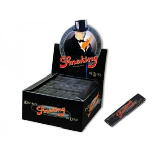 Smoking Deluxe Black King Size Box