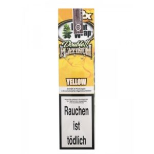 Yellow Blunt Wrap