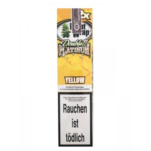 Yellow Blunt Wrap