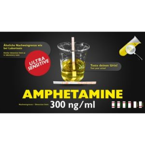 Bandelette de test d'urine Apmphetamine / Speed sensitive 300ng/ml