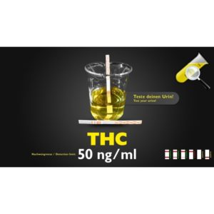 Bandelette de test d'urine THC 50ng/ml
