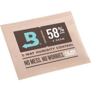 Boveda - Sachet 4gr maintien humidité 58%